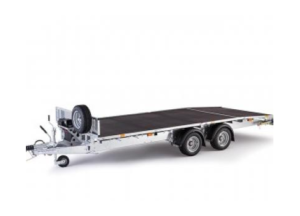 Ifor Williams 14ft Beaver Tail Trailer Image