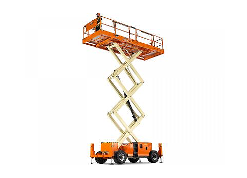 Engine Powered Scissor Lift 33ft JLG 3394RT Image