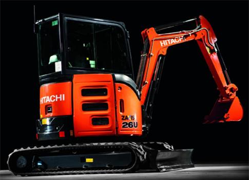 Hitachi Zaxis 26u Image